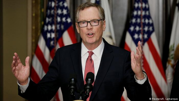 USA Washington - Robert Lighthizer nach Amtseinführung (Reuters/K. Lamarque)