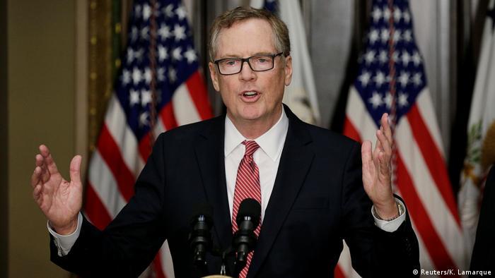 USA Washington - Robert Lighthizer nach Amtseinführung (Reuters/K. Lamarque)