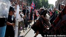 USA Virginia Charlottesville - Ausschreitungen nach Demonstrationen