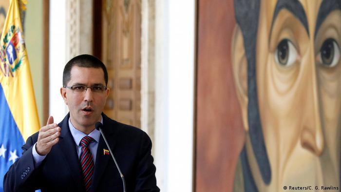 Venezuela tells Germany 'don't interfere'