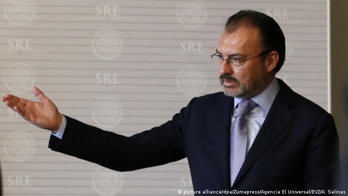 Mexikanischer Außenministers Luis Videgaray (picture alliance/dpa/Zumapress/Agencia El Universal/EVZ/A. Salinas)