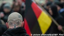 Deutschland Demonstration gegen angeblichen Asylmissbrauch