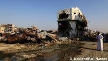 Saudi Arabien Zerstörung in der Stadt Awamiya