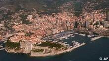 Das Herzogtum Monaco aus der Luft