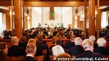 Trauergottesdienst für Martin Roth in Berlin