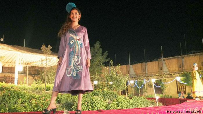 Fashion show in Kabul (picture-alliance/Kyodo)