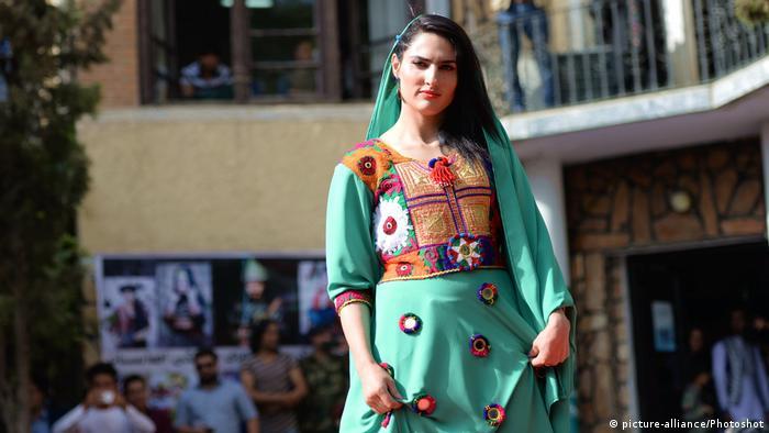 Desfile de modas en Kabul.