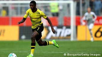 Rot-Weiss Essen v. Borussia Dortmund Ousmane Dembele (Bongarts/Getty Images)