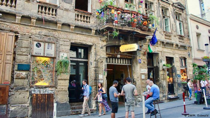 Das jüdische Viertel in Budapest (DW/M. Ostwald)