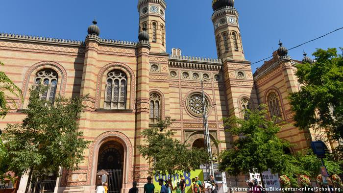 Grosse Synagoge Budapest Ungarn (picture alliance/Bildagentur-online/Schoening)