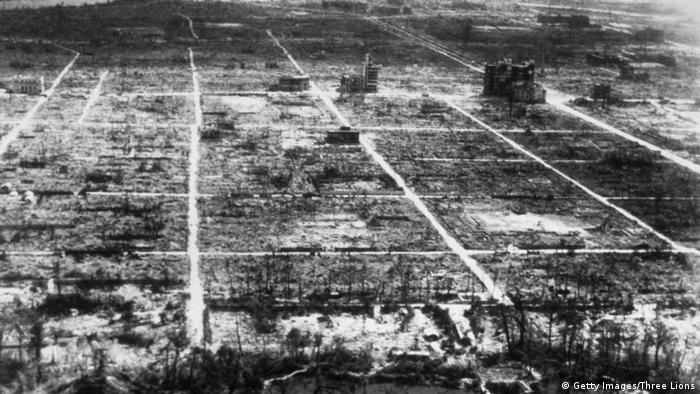 Atom bombası atıldıktan sonra Hiroşima