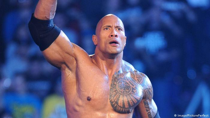 USA Dwayne Johnson WWE (Imago/PicturePerfect)