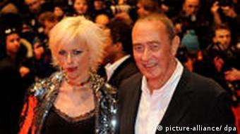 Bernd Eichinger und seine Frau Katja (Foto: dpa)