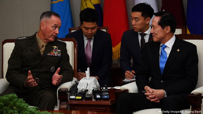 Südkorea Joseph Dunford (Getty Images/S. Kyung-Seok)
