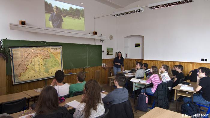 Ungarn Bildung Schulklasse in Budapest