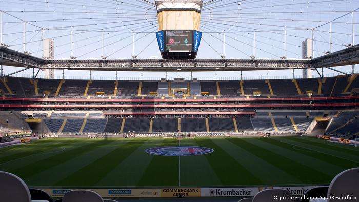 Франкфурт-на-Майне. Commerzbank-Arena