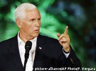 Майк Пенс заявив, що США і надалі тиснутимуть на уряд Венесуели
