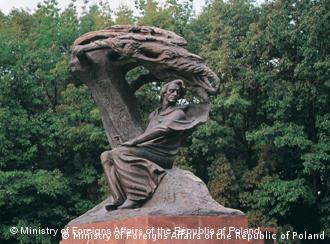 Image result for صور تمثال فريدريك شوبان في بولونيا