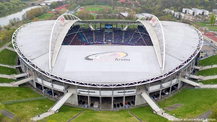 Лейпциг. Red Bull Arena. Домашний стадион клуба Лейпциг