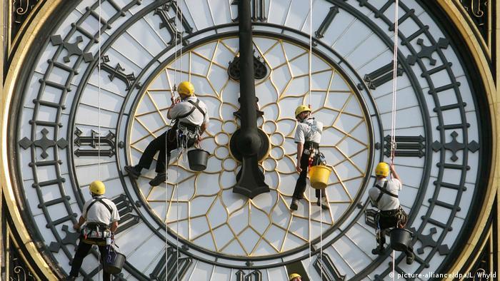Großbritannien London - Uhrwerk von Big Ben