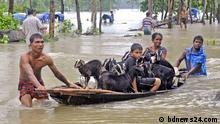 August 2017 ++ Flood in Bangladesh, 24 people died. (c) bdnews24.com