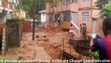 Sierra Leone Freetown Überschwemmungen