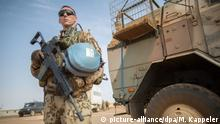 Mali Deutscher UN-Soldat in Gao
