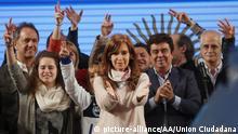 Argentinien Cristina Fernandez de Kirchner in Buenos Aires