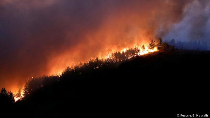 Griechenland Wäldbrände