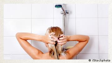 Deutschkurse   Wortschatz   WBS_Foto_duschen