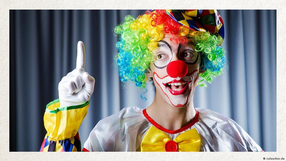 Deutschkurse | Wortschatz | WBS_Foto_Clown