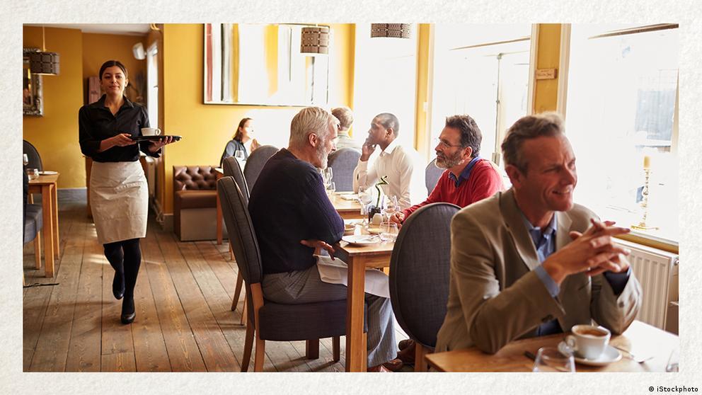 Deutschkurse | Wortschatz | WBS_Foto_Gastronomie