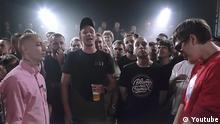 Rap-Battle zwischen 2 russischen MCs Oxxxymiron und Gnojnyj Youtube Screenshot