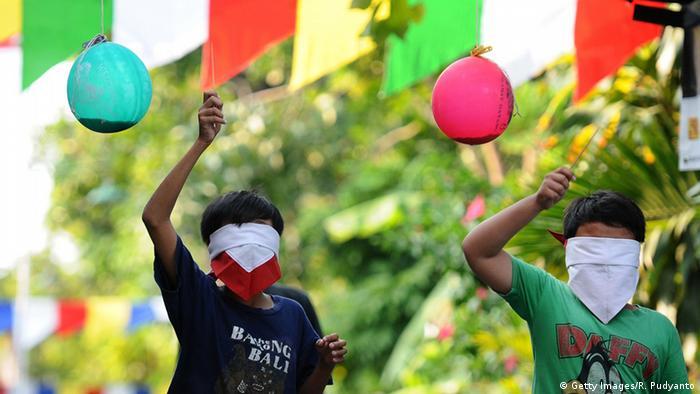 Tag der indonesischen Unabhängigkeitserklärung am 17. August 1945 (Getty Images/R. Pudyanto)
