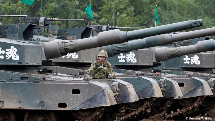 Japan Eniwa Northern Viper 17 Übung USA Japan (Reuters/T. Hanai)
