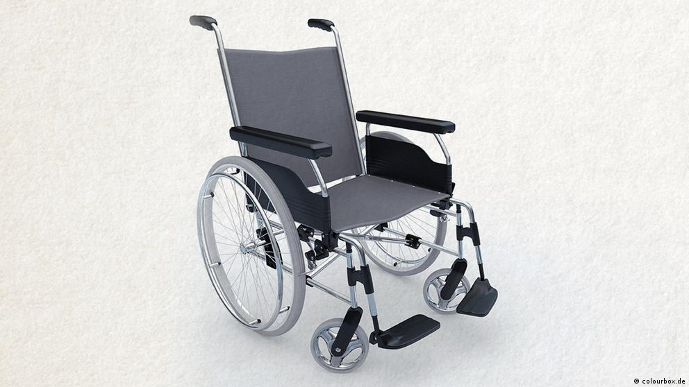 Deutschkurse | Wortschatz | WBS_Foto_Rollstuhl