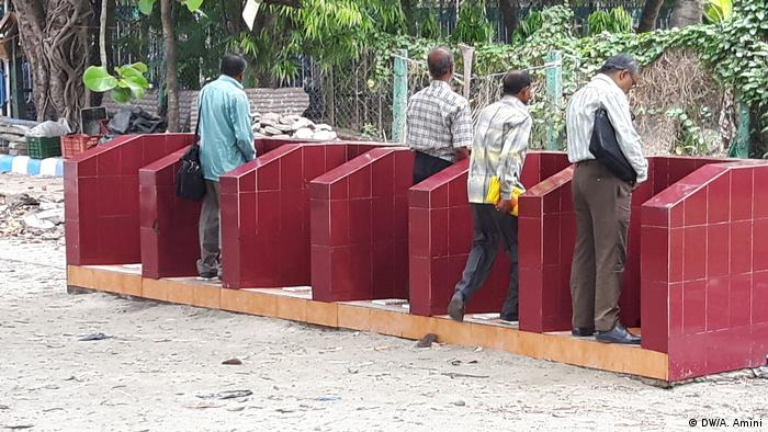 A public toilet in India's West Bengal state