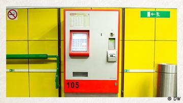 Deutschkurse   Wortschatz   WBS_Foto_Ticketautomat