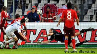 Karlsruher SC - Hamburger SV Treffer Freis