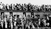 India Pakistan Partition Zug Muslime Flüchtlinge