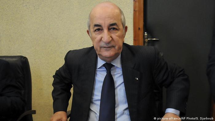 Algerien Algier Abdelmadjid Tebboune