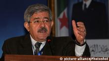 Algerien Algier Ahmed Ouyahia (picture-alliance/Photoshot)