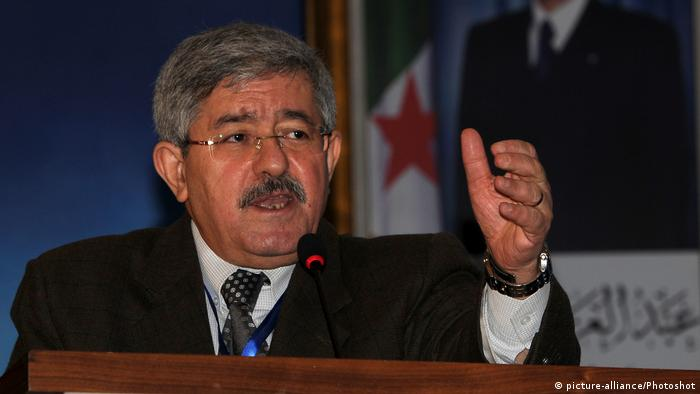 Former Algerian PM Ahmed Ouyahia (picture-alliance/Photoshot)