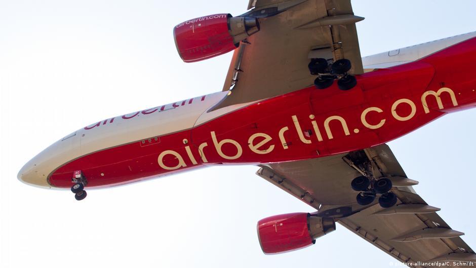 Ер Берлин  Пропаста на втората по големина авиокомпанија во Германија