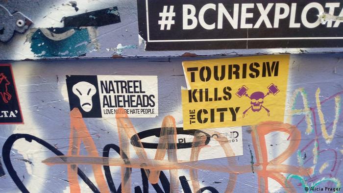 Natpis u Barceloni: Turizam ubija grad