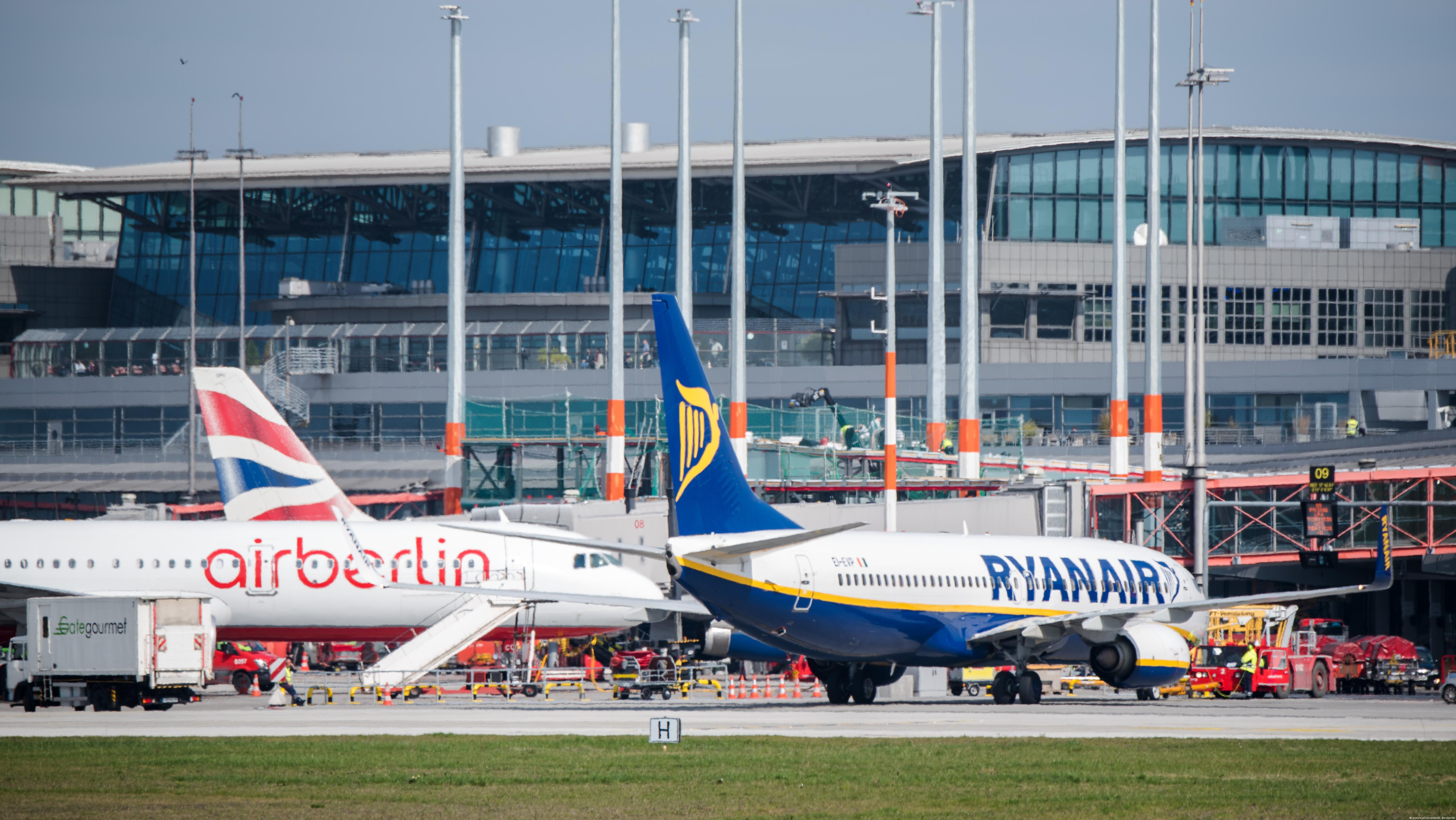 Ryanair lodges complaint over Air Berlin bankruptcy | News | DW | 16.08.2017