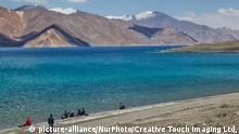 Indien Pangong See in Ladakh