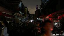 Taiwan Stromausfall in Taipei