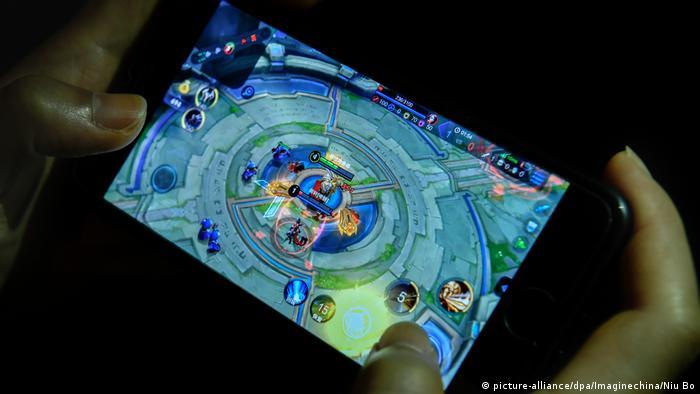 Handyspiel King of Glory (picture-alliance/dpa/Imaginechina/Niu Bo)