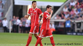 Audi Cup 2017 FC Bayern Muenchen-SSC Neapel (picture-alliance/dpa/S.Simon)